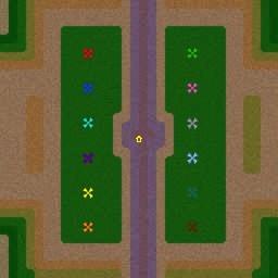 карта Варкрафт 3